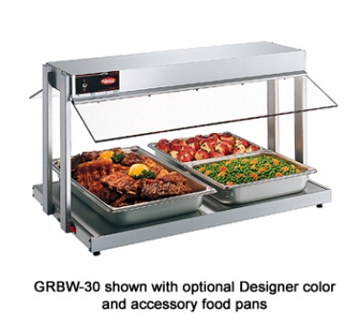 Hatco GRBW-48 240 49-1/8-in Buffet Warmer, Sneeze Guards, Light & Heated Base, 240 V