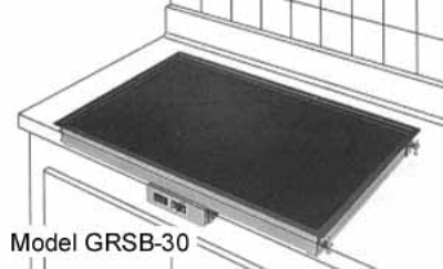 Hatco GRSB-30-I-120QS 31.5-in Drop In Heated Shelf w/ Recessed To Restaurant Supply