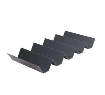 Hatco 5PLTBOX 5-Pleat Hard Coated French Fry Box Tray