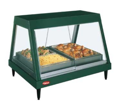 Hatco GRHDH-4P 120 59-2/5-in Heated Glass Front Display Case w/ 4-Pan Shelf, 120 V