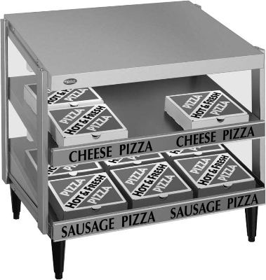 Hatco GRPWS-2418D Pass-Thru Pizza Warmer w/ Double Slant Shelf, 24 x 18-in, 120 V