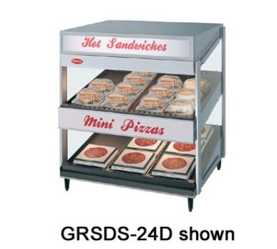 Hatco GRSDS-24 24-in Merchandising Warmer w/ Forward Slanted Shelf, 120 V