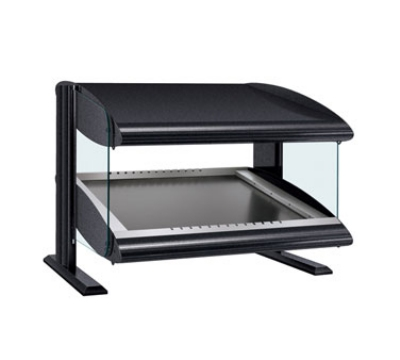 Hatco HZMS-36 Slanted Merchandising Warmer, 1-Shelf & 4-Zone, 4-Divider Rod, LED, 1