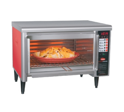 Hatco TFW-461R/1 RED 2401 Wide Countertop Food Finisher w/ 5-Elements, Warm Red, 240/1 V