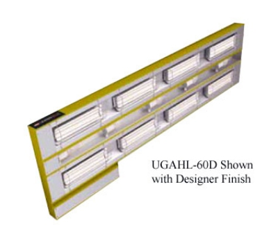 Hatco UGAHL-36D3 240 36-in Foodwarmer 2-Ceramic w/ 3-in Space High Watt Light 240 V Restaurant Supply