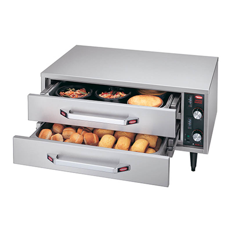 Hatco HDW-1R2 Warming Split Drawer, Free Stdng, 2 Drawer, 2-1/2 in Deep,525 W