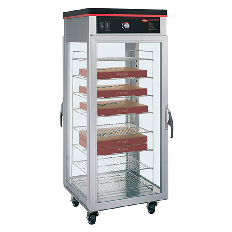 Hatco PFST-1X Pass Thru Tall Dry Holding Cabinet, 1-Door & 8-Shelf Rack