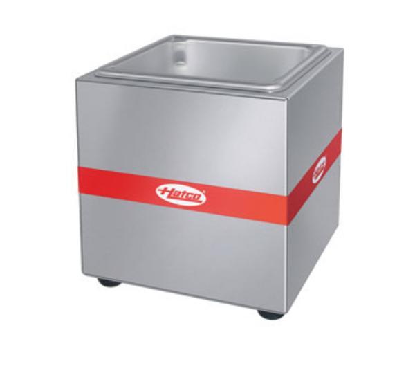 Hatco QW-6 Warmer, Countertop, 1/6 Size 6 in Deep Pan, SS, 110 Watts