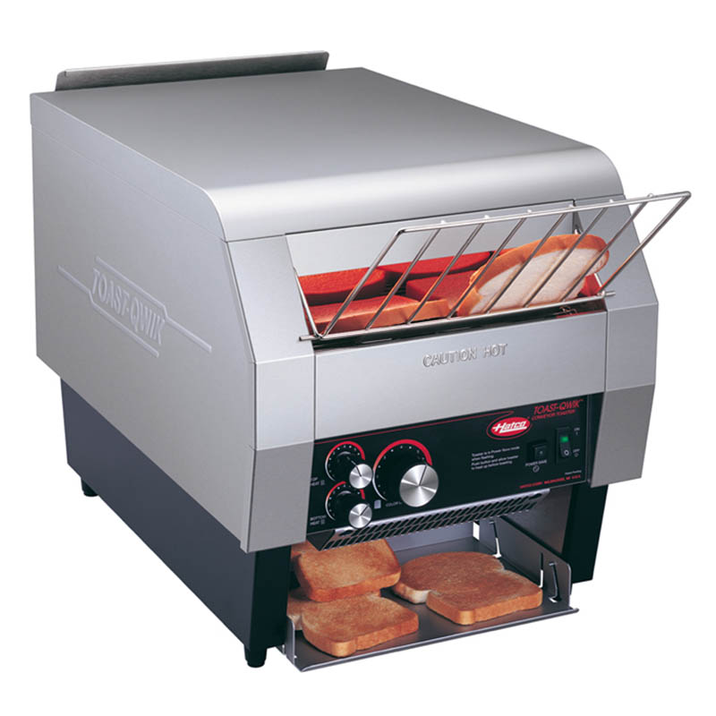 Hatco TQ-800 Conveyor Toaster, 1-3/4-in H Opening, 14-Slice/Min, Toasts 2 Sides