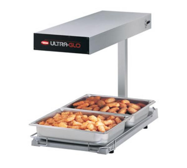 Hatco UGFFB-120-T-QS Ultra-Glo Portable French Fry Warmer, Heated Base, 1000 Watts