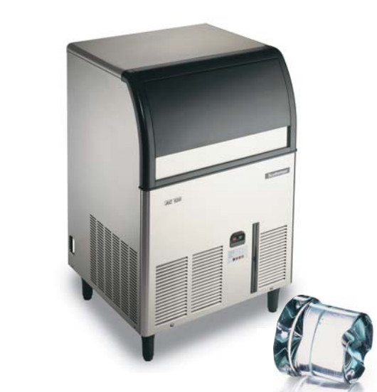 Scotsman ACM126AS Gourmet Cube Ice Maker - 149-lb/24-hr, 86-lb Bin Capacity, Air Cool