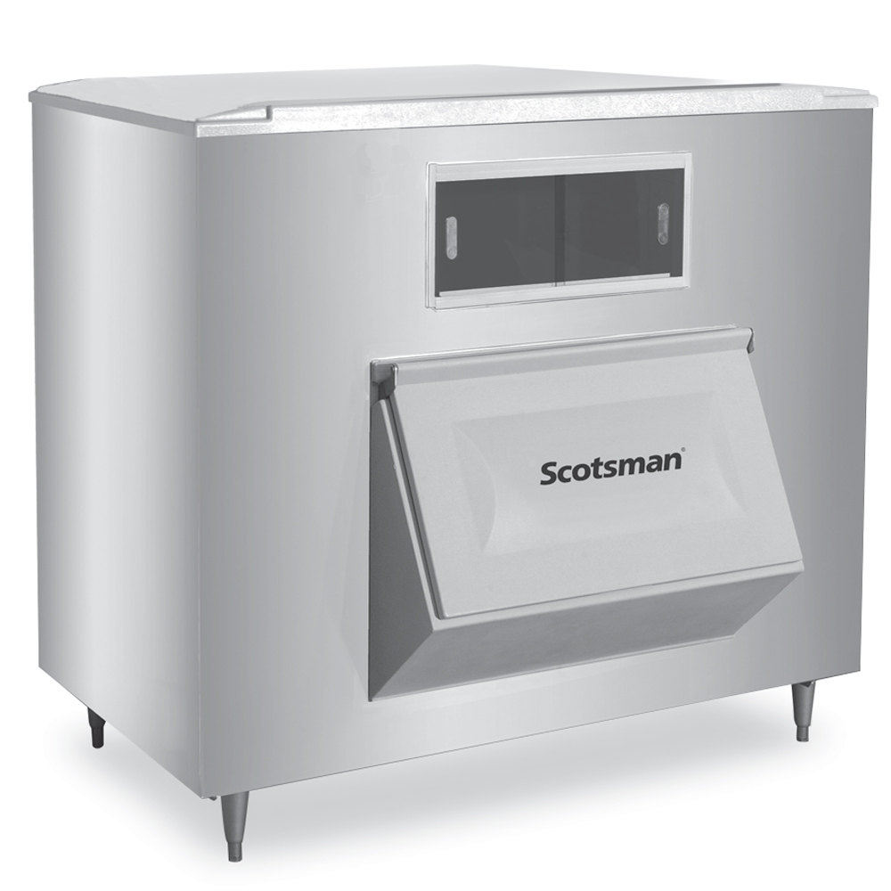 "Scotsman BH1100SS-A 48"" Wide 1100-lb Ice Bin with Lift Up Door"
