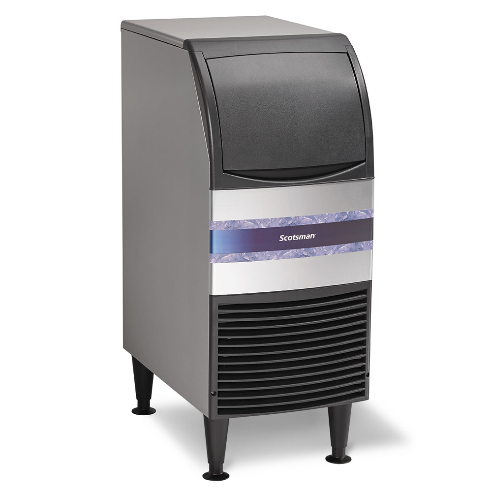 Scotsman CU0415MA-1 Full Cube Ice Maker - 58-lb/24hr, 36-lb Bin Capacity, Air Cool