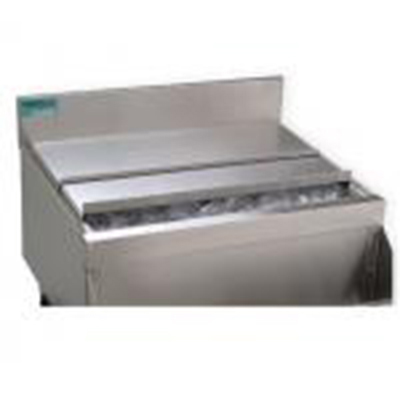 Scotsman KBT53 Bin Top for 2-EH222 Eclipse side-by-side & on BH1300 & BH1600 Bins, Stainless