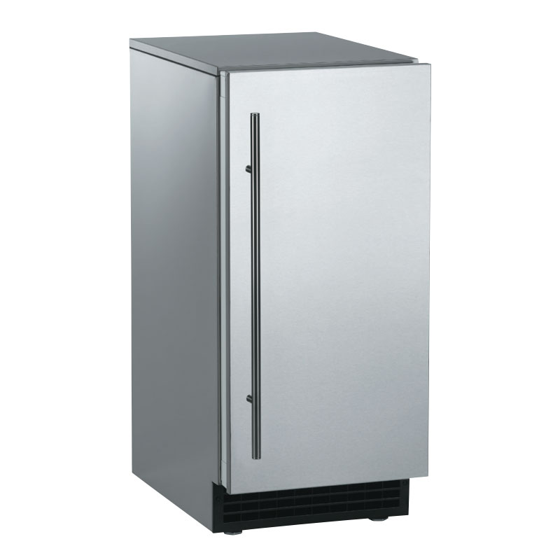 Scotsman SCCP50MA1SS Outdoor Ice Maker - 65-lb/24-hr, 26-lb Storage, Gourmet Cube, Stainless