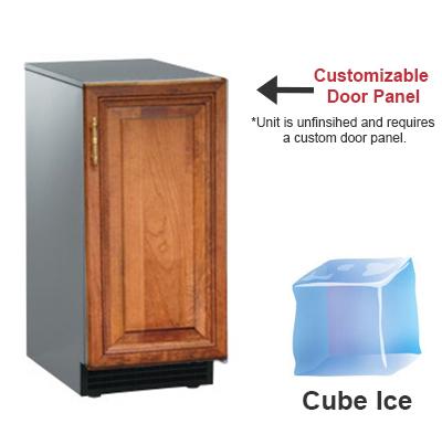 Scotsman SCCP30MA1SU Undercounter Full Cube Ice Maker - 30-lbs/day, Pump Drain, 115v