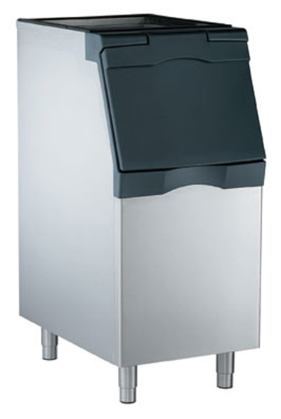 Scotsman B322S Ice Bin for Top Mount Maker w/ 370-lb Capacity, Metallic Finish