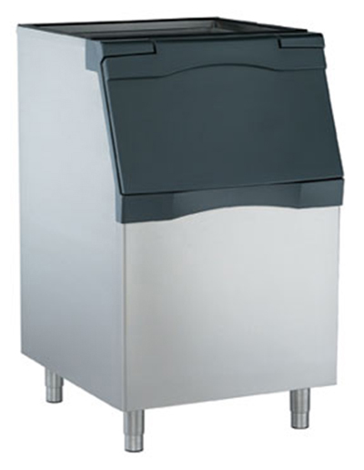 Scotsman B530S Ice Bin for Top Mount Maker w/ 536-lb Capacity, Metallic Finish