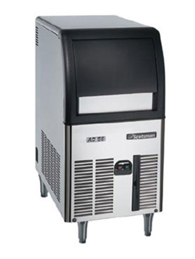 Scotsman CU0515GA-1 Gourmet Cube-Style Ice Maker w/ 24-lb Bin & 84-lb/24-hr, Air Cool, Stainless