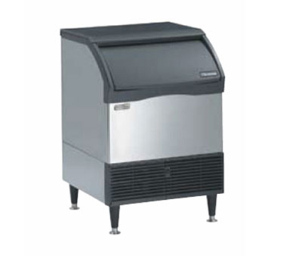 Scotsman CU2026SW-1 Prodigy Cube Style Ice Maker w/ 80-lb Bin & 240-lb/24-hr, Water Cool, Stainless