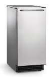 Scotsman CU50PA-1 Undercounter Gourmet Cube Ice Maker w/ 26-lb Bin & 65-lb Production Capacity,