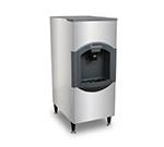 Scotsman HD22B-1 Floor Model Cube Ice Dispenser w/ 120-lb Storage - Bucket Fill, 115v