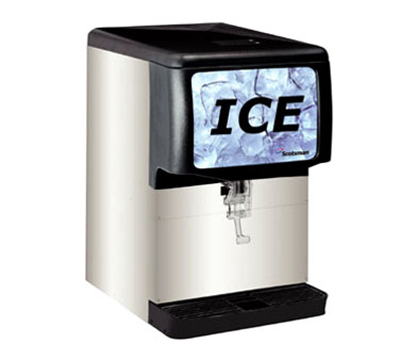 Scotsman ID150B-1 Cup Activated Ice Dispenser w/ 150-lb Capacity, Cube Ice, Counter Top, Stainless, 115/1V