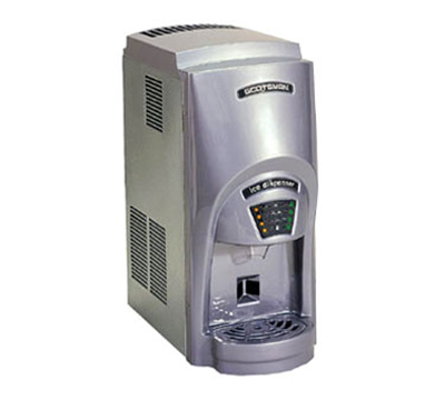 Scotsman MDT2C12A-1 Touchfree Cubelet Ice Maker & Dispenser w/ 273-lb/24-hr & 12-lb Capacity, Air Cool