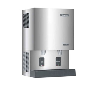 Scotsman MDT5N25A-1 Touchfree Nugget-Style Ice Maker & Dispenser w/ 523-lb/24-hr & 26-lb Capacity, Air Cool