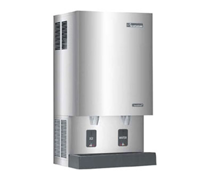 Scotsman MDT5N40W-1 Touchfree Nugget-Style Ice Maker & Dispenser w/ 525-lb/24-hr & 40-lb Capacity, Air Cool