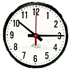 Lathem 12RFAG Analog Wall Clock, 1