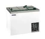 "Masterbilt DC-6D 43"" Stand Alone Ice Cream Freezer w/ 8-Tub Capacity & 5-Tub Storage, Galvanized, 115v"