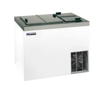 "Master-bilt DC-8DSE 54"" Stand Alone Ice Cream Freezer w/ 11-Tub Capacity & 8-Tub Storage, Stainless, 115v"