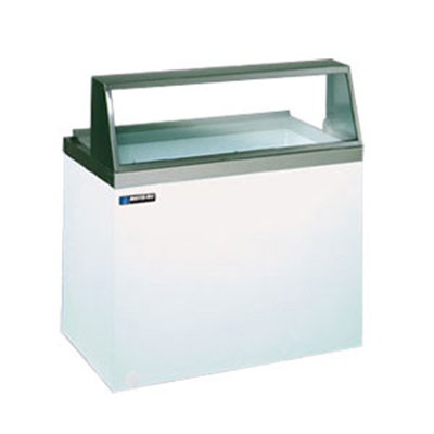 Masterbilt DD-46 Ice Cream Dipping Cabinet - (8) 3-gal Capacity, (4) Storage, Galvanized