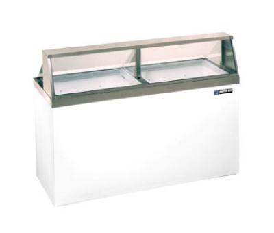 Masterbilt DD-66 Ice Cream Dipping Cabinet - (12) 3-gal Capacity, (8) Storage, Galvanized