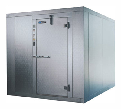 Masterbilt 720608-E Indoor Walk In Cooler, 5' -10 x 7' -9 x 7' -2-in, 1-Infit Door, White, Box Only