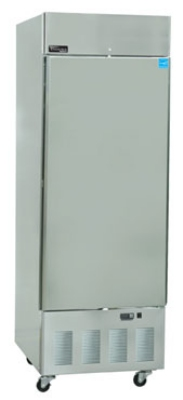 "Masterbilt BSD-24SRA 27.5"" Reach-In Refrigerator - (1) Solid Door, 24-cu ft, Stainless"