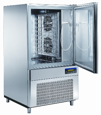 "Masterbilt MBCF115/55-14 Reach-In Blast Chiller - (14) 12x20x2.5"" Pan Capacity, Stainless"