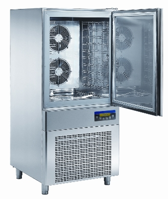 "Masterbilt MBCF93/55-8 Reach-In Blast Chiller - (8) 12x20x2.5"" Pan Capacity, Stainless"