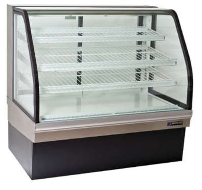 "Master-bilt CGB-59 59.13"" Full Service Refrigerated Deli Case w/ Curved Glass -"