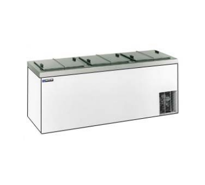 Masterbilt DC-12D Ice Cream Dipping Cabinet - (15) 3-gal Capacity, (18) Storage, White