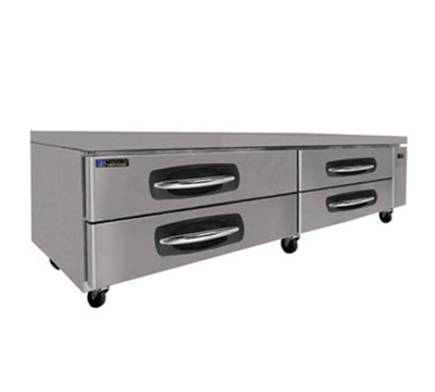 "Masterbilt MBCB96 96"" Chef Base - 2-Drawers, 9.8-cu ft, Stainless"