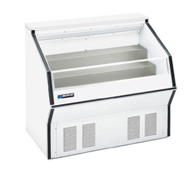 "Masterbilt MPM-48 48"" Medium Temp Open Display Merchandiser - 2-Tier Deck, White"