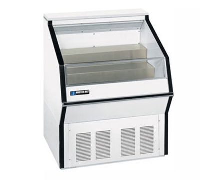 "Masterbilt MPM-36 36"" Medium Temp Open Display Merchandiser - 2-Tier Deck, White"