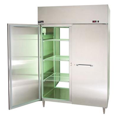 "Master-bilt MPW554SSS/8 55"" Pass-Thru Heated Cabinet - (4) Solid Door, 55.7-cu ft"