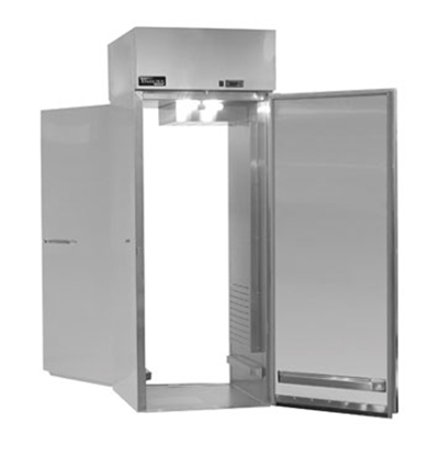 "Masterbilt MPWW332SSS/0 31.75"" Roll-Thru Heated Cabinet - (2) Solid Door, 36.4-cu ft"