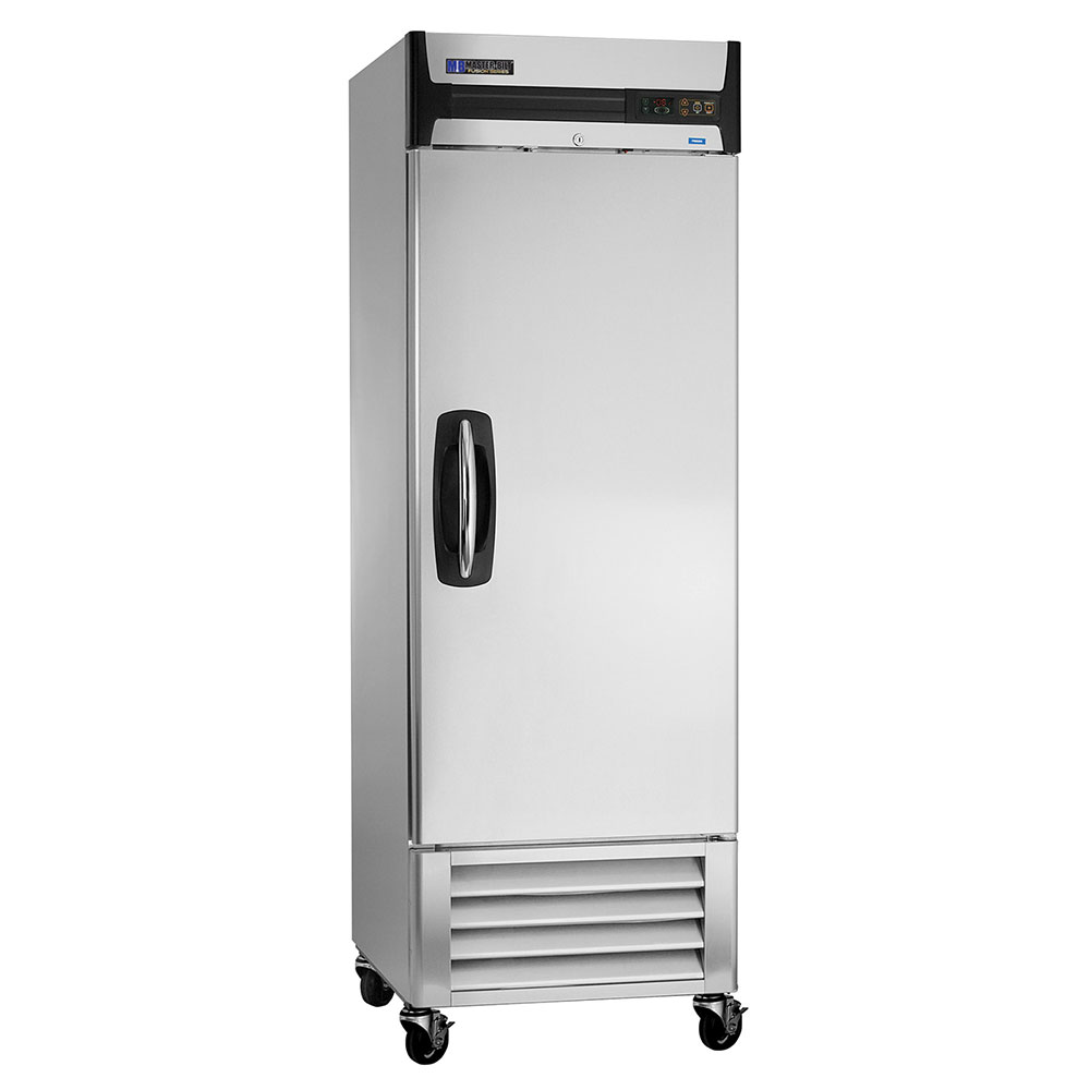 "Masterbilt MBR23-S 27.5"" Reach-In Refrigerator - (1) Solid Door, 23-cu ft, Stainless"