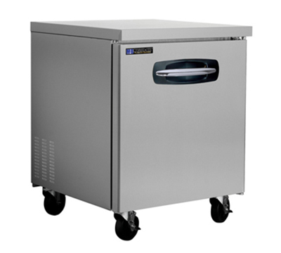"Masterbilt MBUF27 27.5"" Undercounter Freezer - (1) Solid Door, 7-cu ft, Stainless"