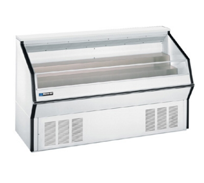 "Masterbilt MPM-72 72"" Medium Temp Open Display Merchandiser - 2-Tier Deck, White"