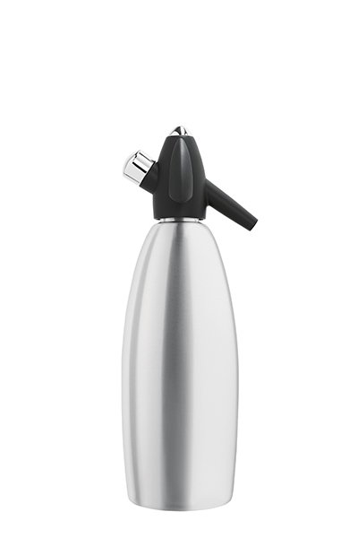 ISI 1007 Soda Siphon, Brushed Aluminum